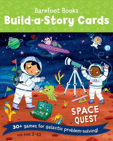 Build-a-Story Cards: Space Quest