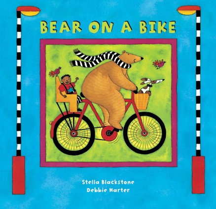 Bear on a Bike (boardbook)