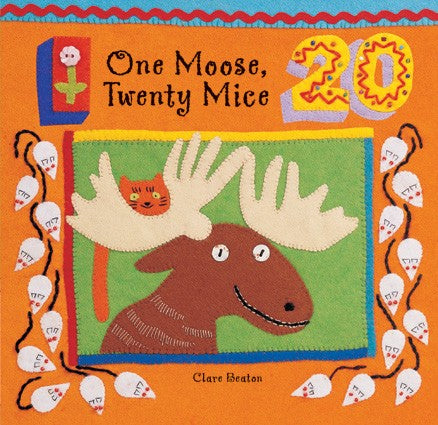 One Moose, Twenty Mice (Board Book)
