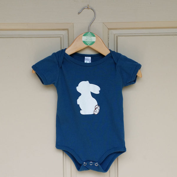 Luxury Organic Onesie- Blueberry