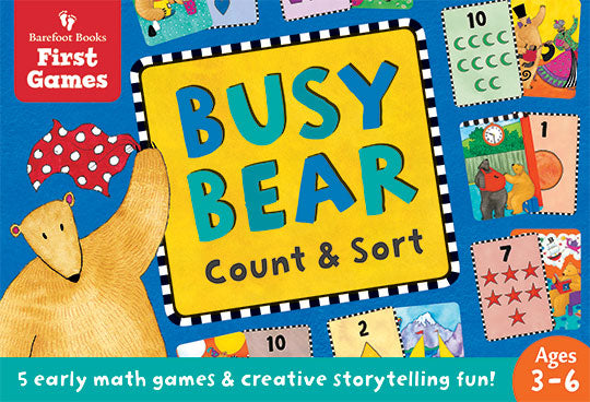 Busy Bear Count and Sort