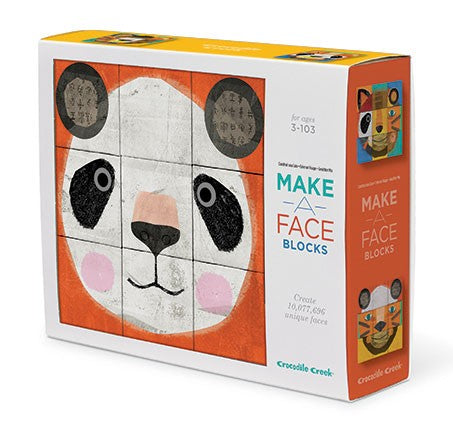 Make a Face Mix-n-Match Block Puzzle