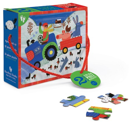 Driving my Tractor Puzzle (2-in-a-Box)