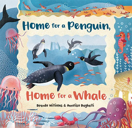 Home for a Penguin, Home for a Whale (Hardcover)