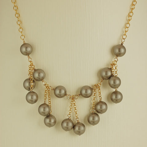 Double Take Necklace-TRQ