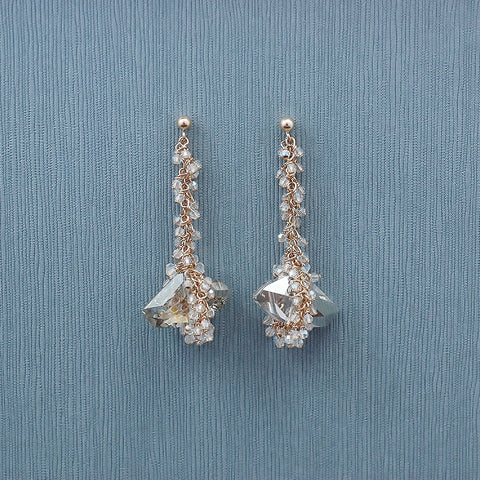 Therese Earring-SLV-GF
