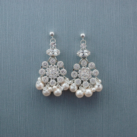 Dominique Chandelier Earring-S/C