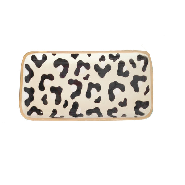 White Leopard  Tray