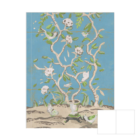 Ditchley Park Journal in Blue