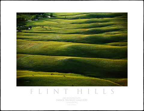 A Sea of Hills - Flint Hills of KS
