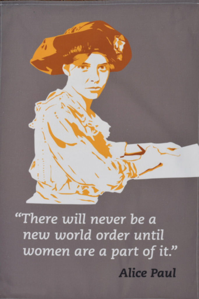 Alice Paul Tea Towel