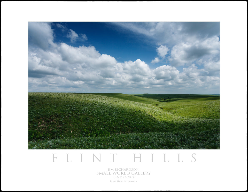 Flint Hill Afternoon - Flint Hills of KS