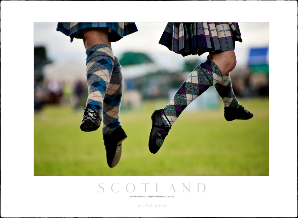 Highland Dancers, Blairgowrie Gathering, Scotland