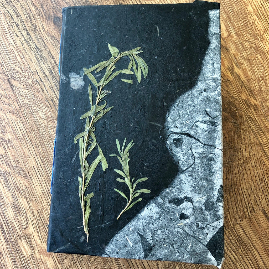Black Lavender - Handmade Journal/Sketch Book