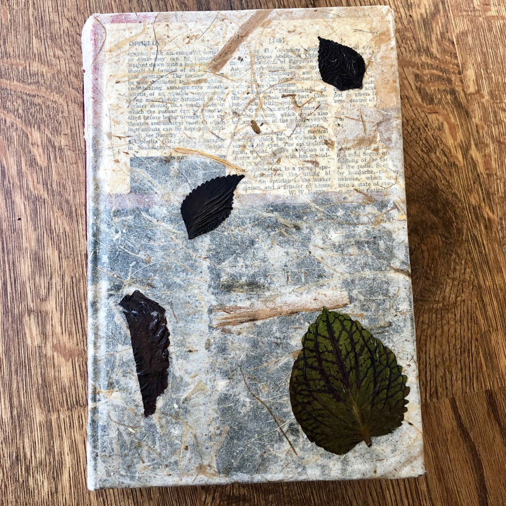 Coleus- Handmade Journal/Sketch Book
