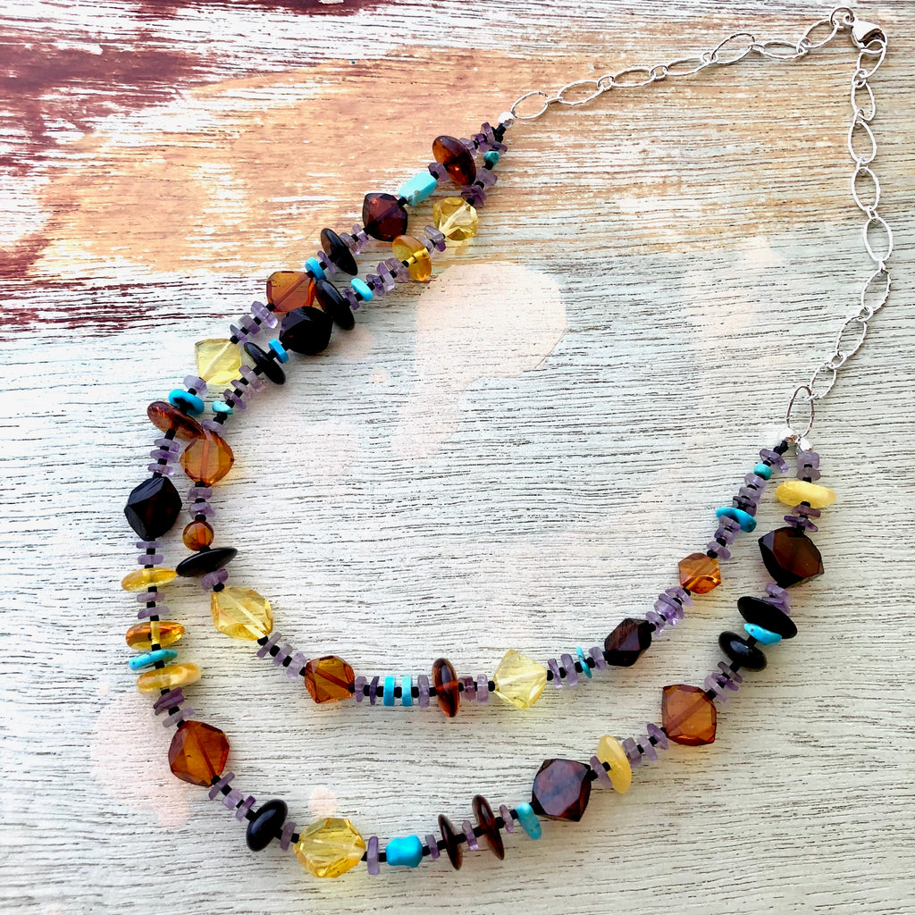 Baltic Amber Double Strand