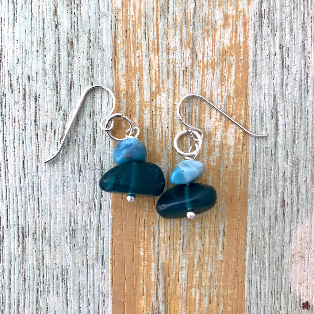 Swedish Blue Earring