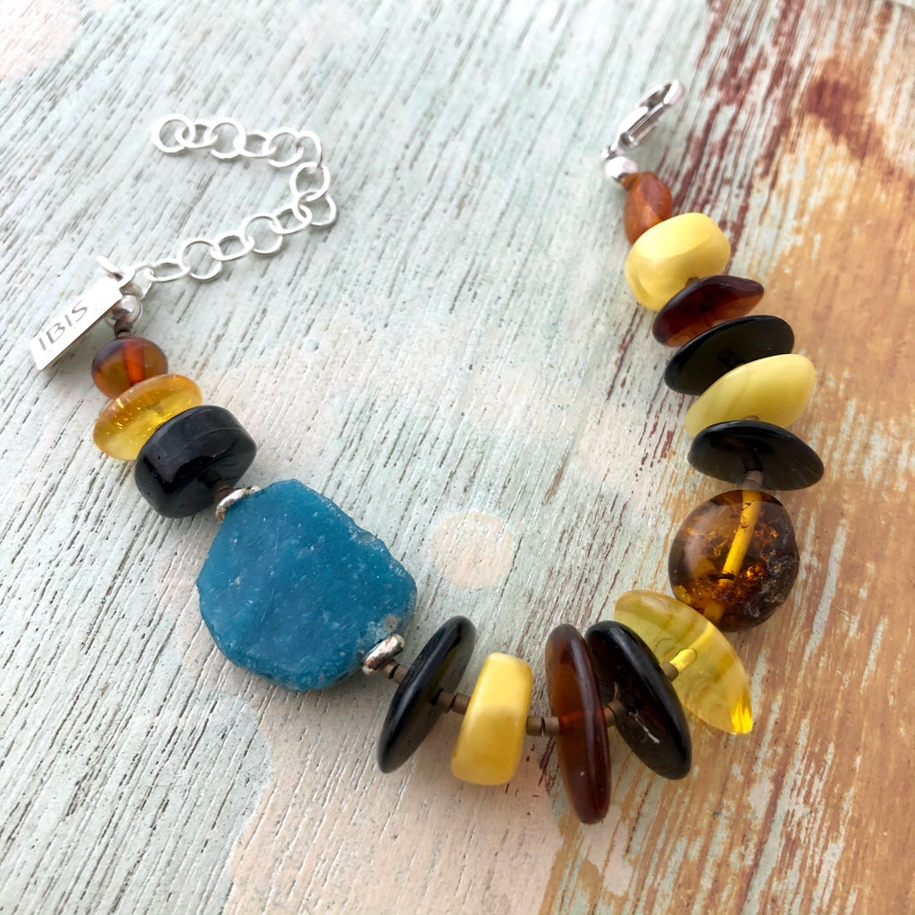 Ancient Glass & Baltic Amber