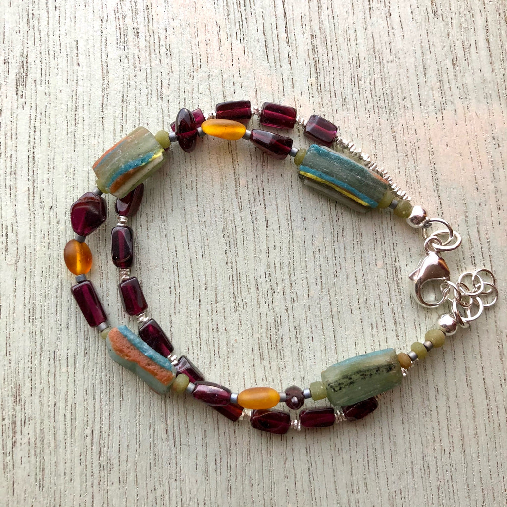 Ancient Glass Bracelet