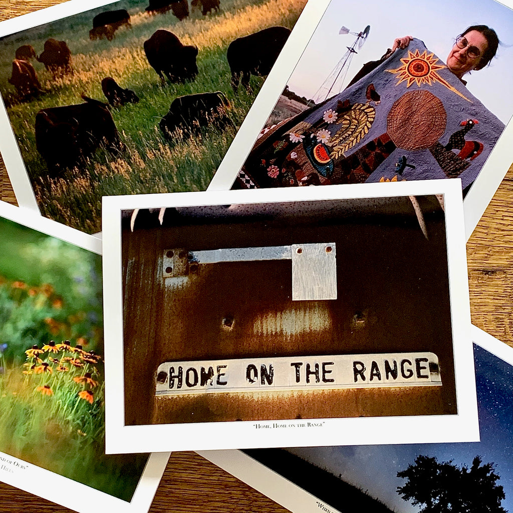 Home on the Range Cards - Box of 8