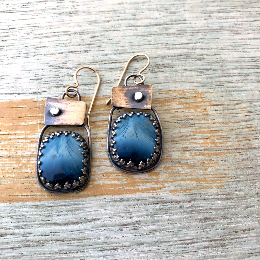 Swedish Blue Earrings