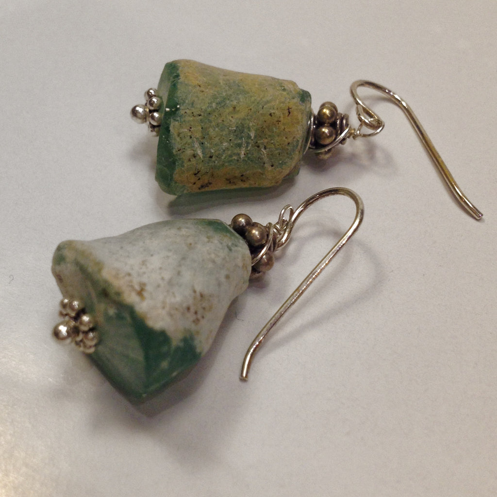 Ancient Glass Earrings