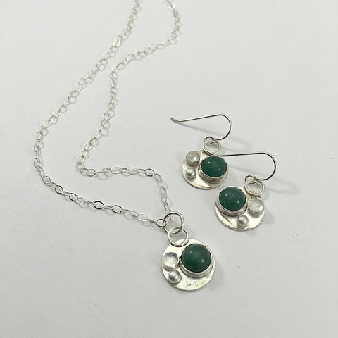 Simple Aventurine Set