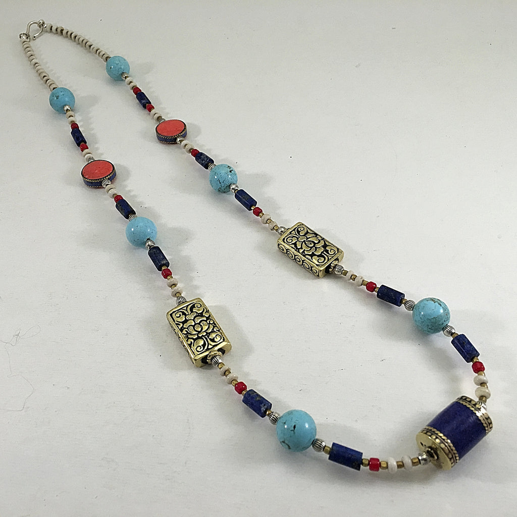 Nepalese & Antique Bead Necklace