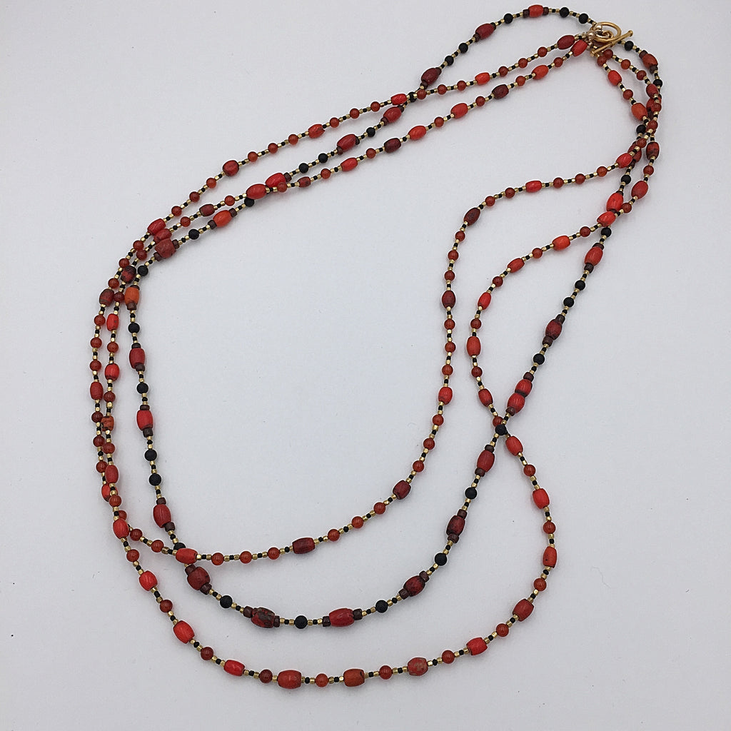 Sherpa Coral Necklace