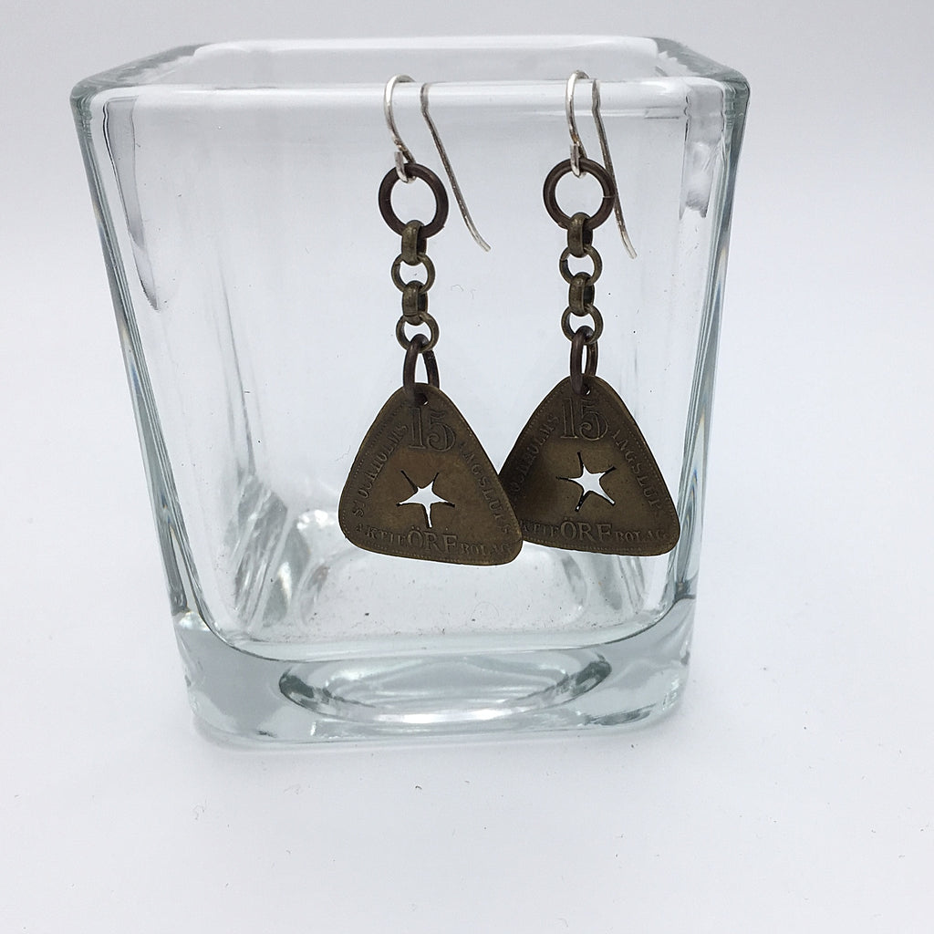 Swedish Token Earrings