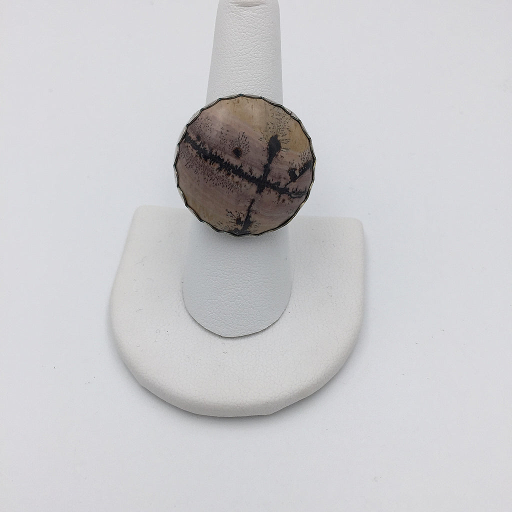 Artistic Stone Ring - Large