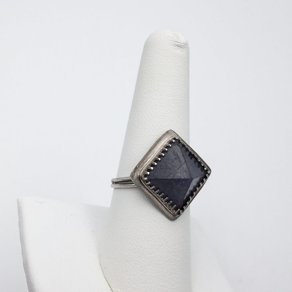 Pyramid Ring - size 8