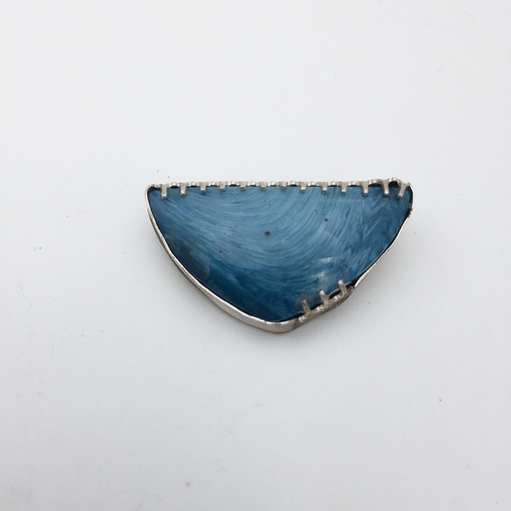 Swedish Blue Pin