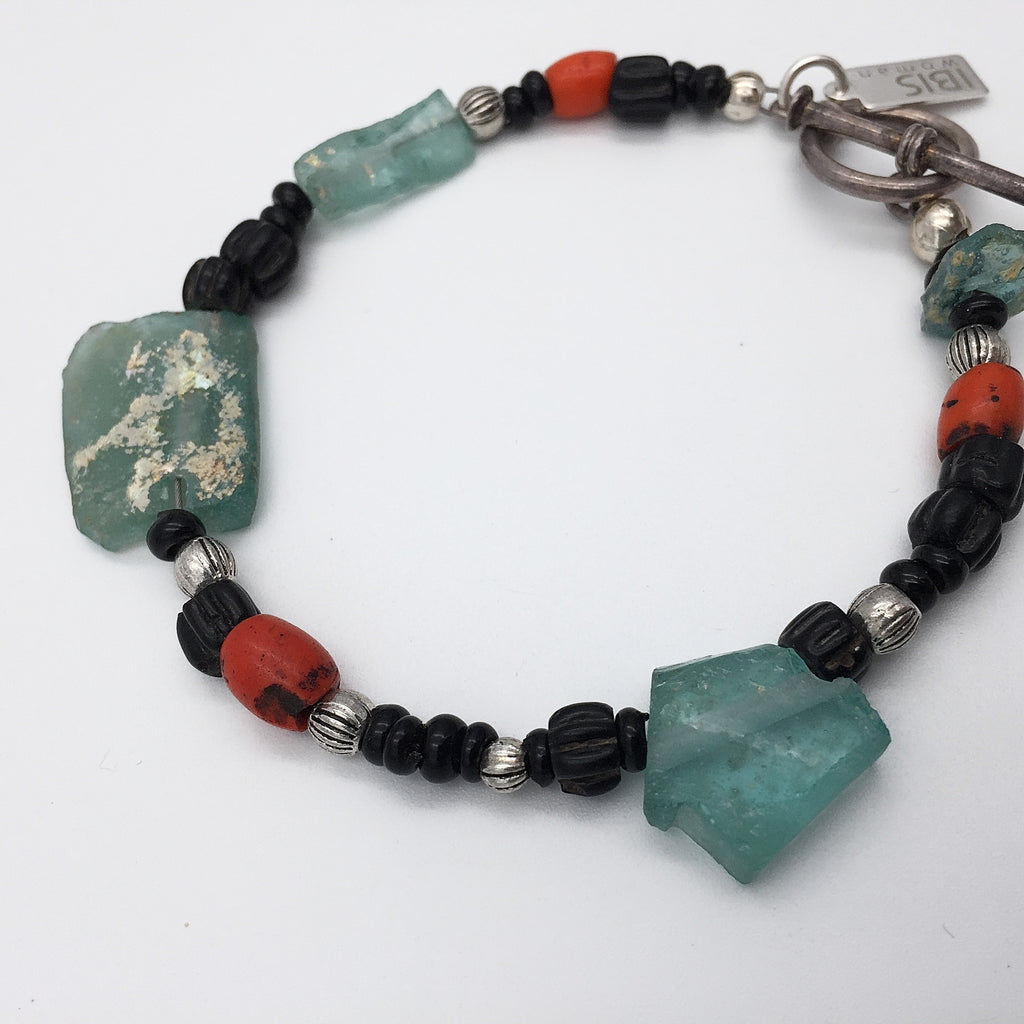 Ancient Glass & Sherpa Coral