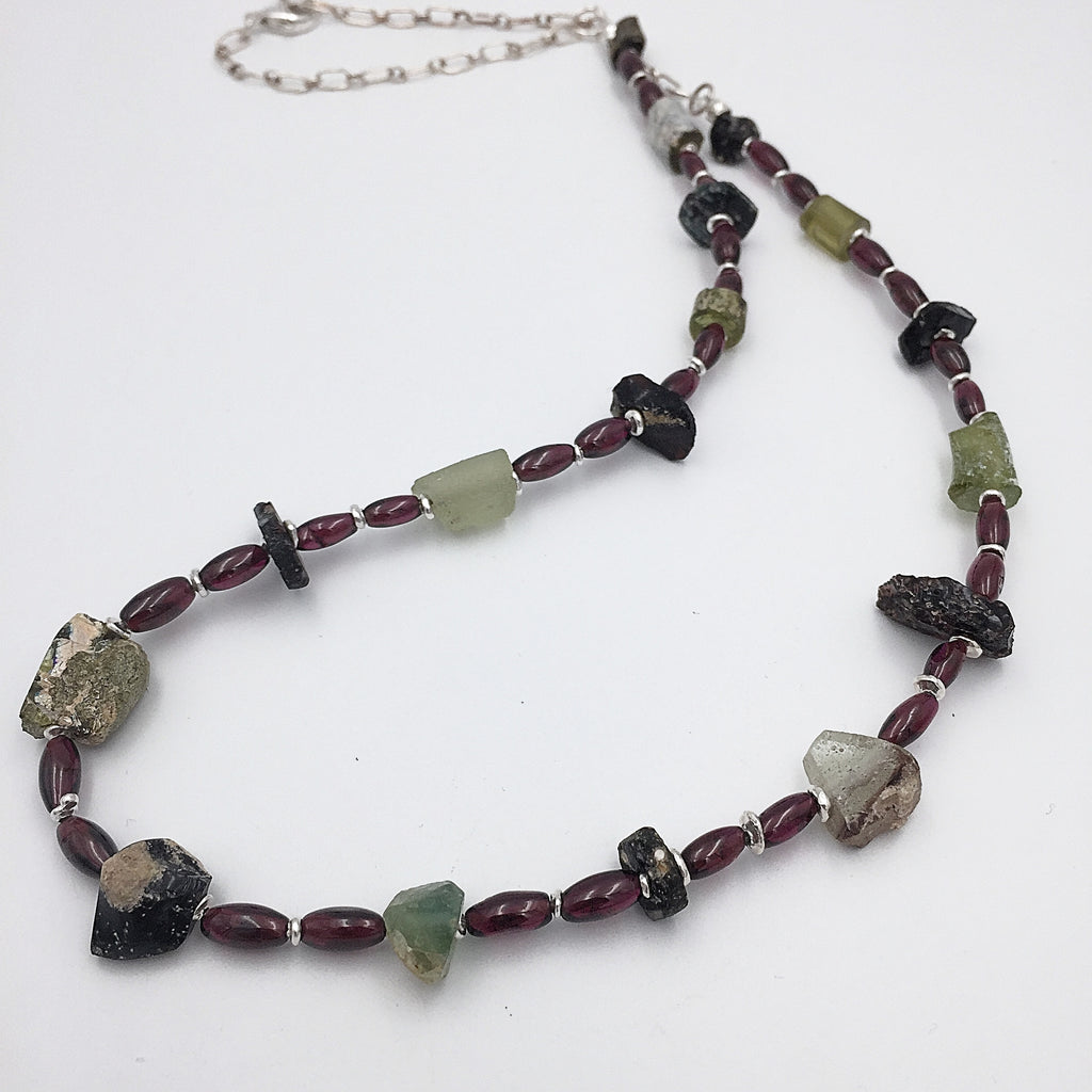 Ancient Glass Necklace