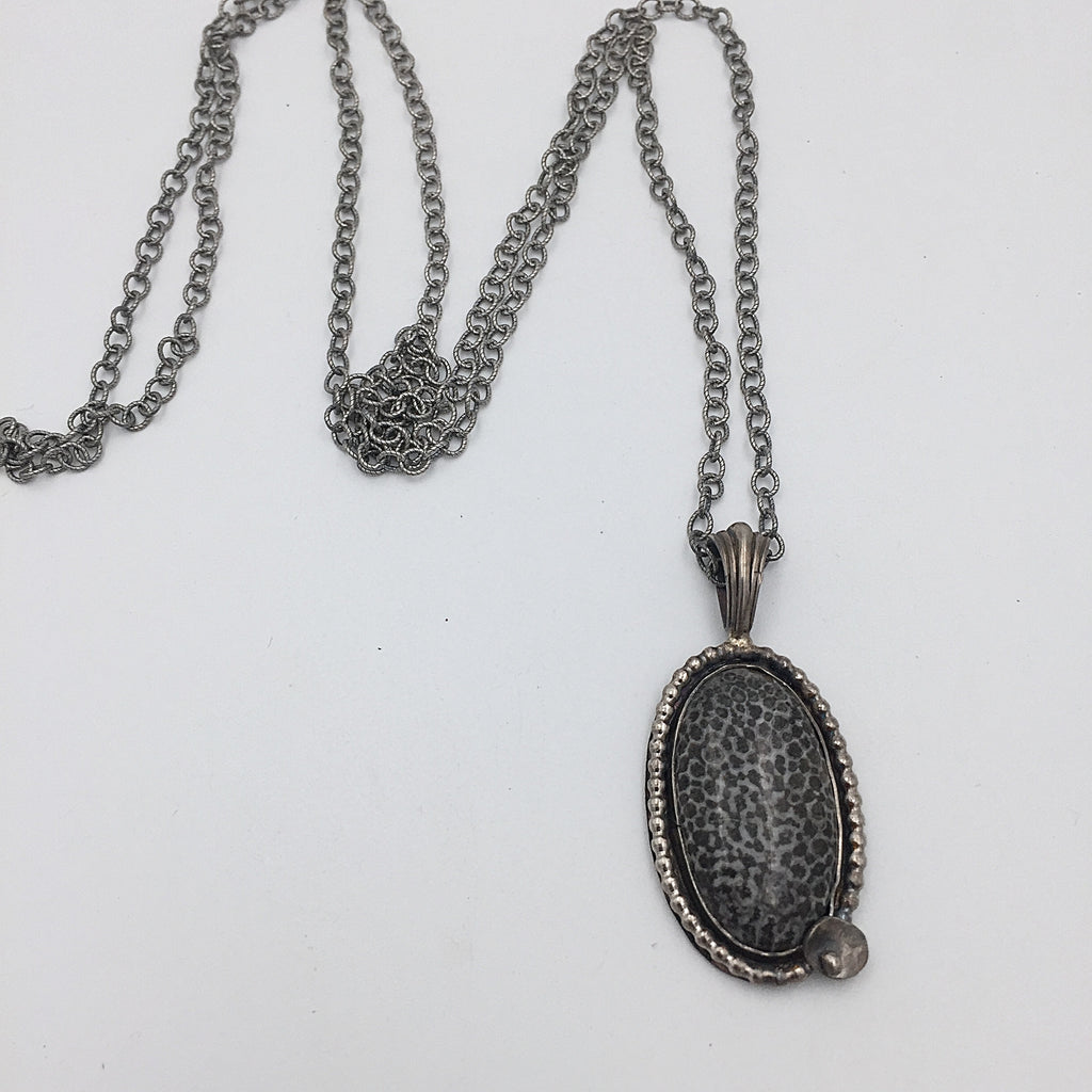 Fossil Coral Necklace