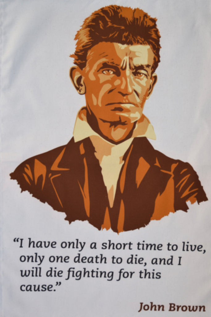 John Brown Tea Towel