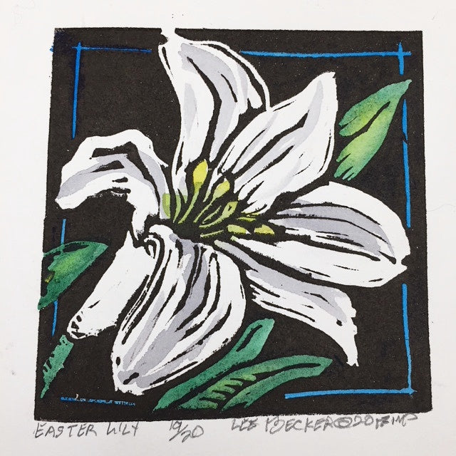 """Easter Lily"" - Lee Becker"