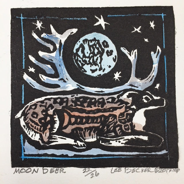 """Moon Deer"" - Lee Becker"