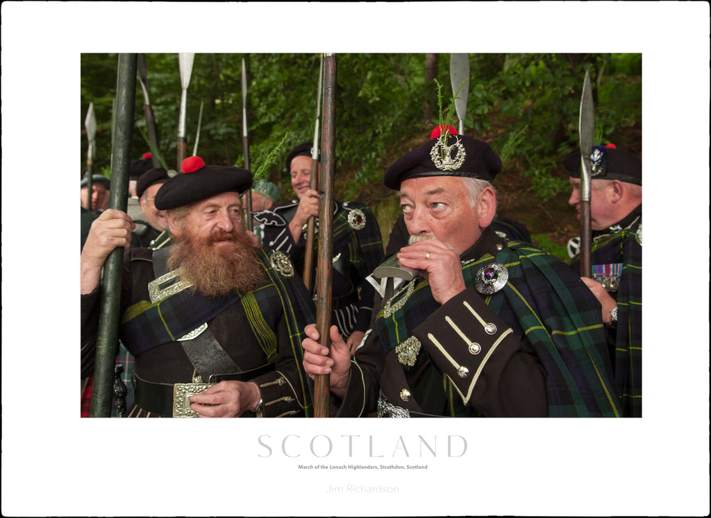 March of the Lonach Highlanders, Scotland