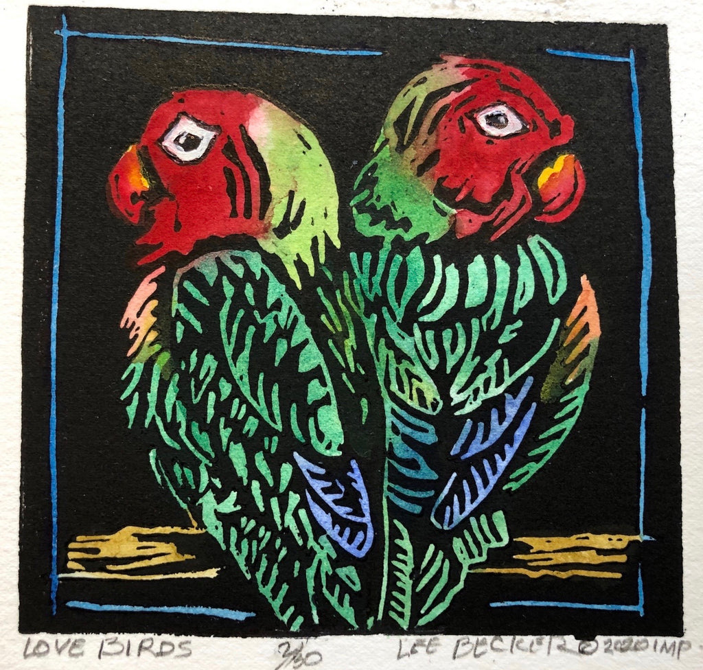"""Love Birds"" - Lee Becker"
