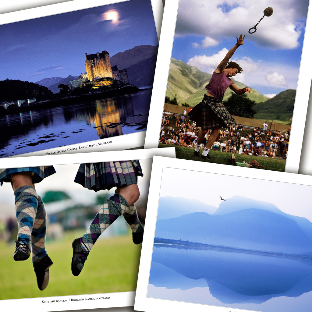 Scotland Cards - Box of 8