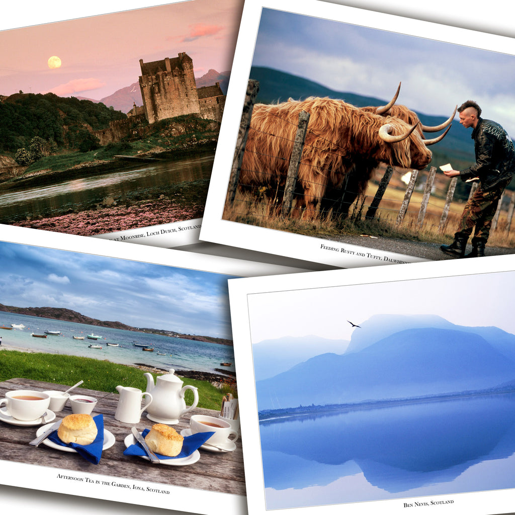 Scotland Cruise Cards - Box of 8