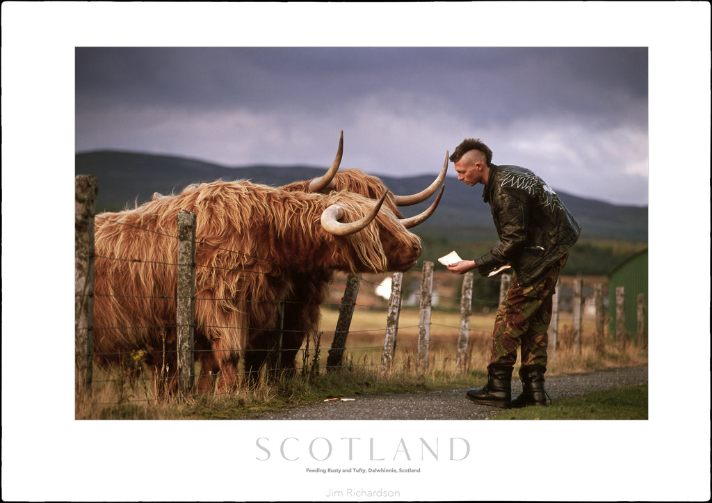 Rusty & Tufty, Dalwhinnie, Scotland
