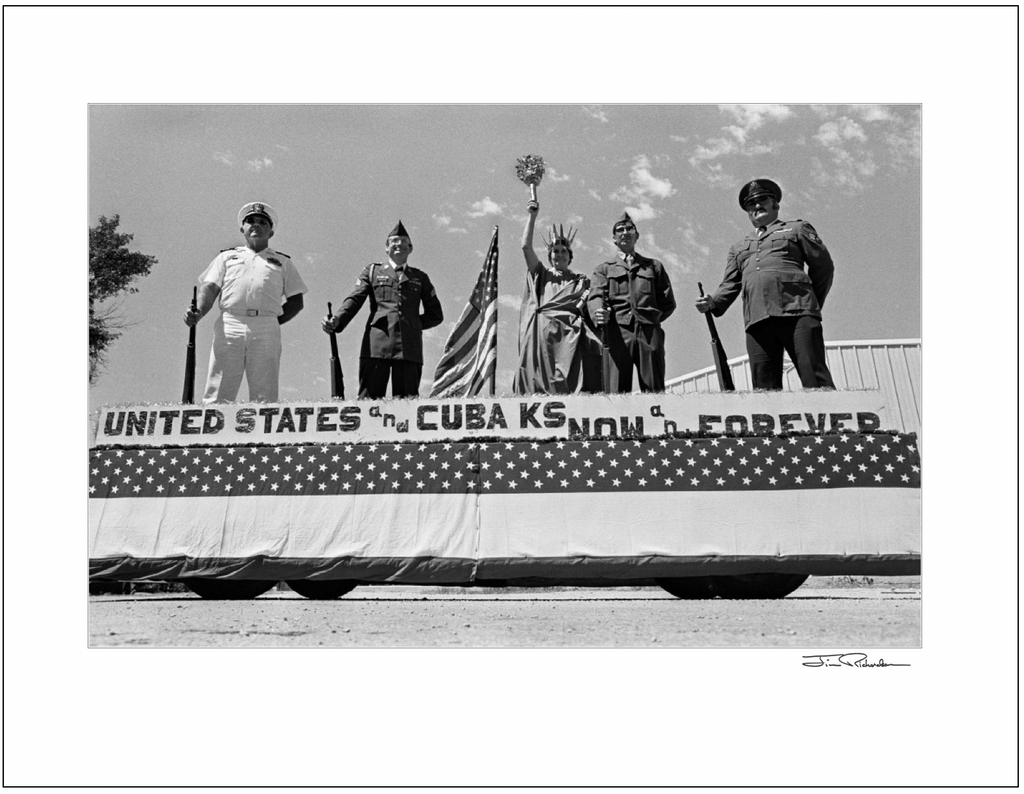 American Legion Parade Float, Cuba, Kansas