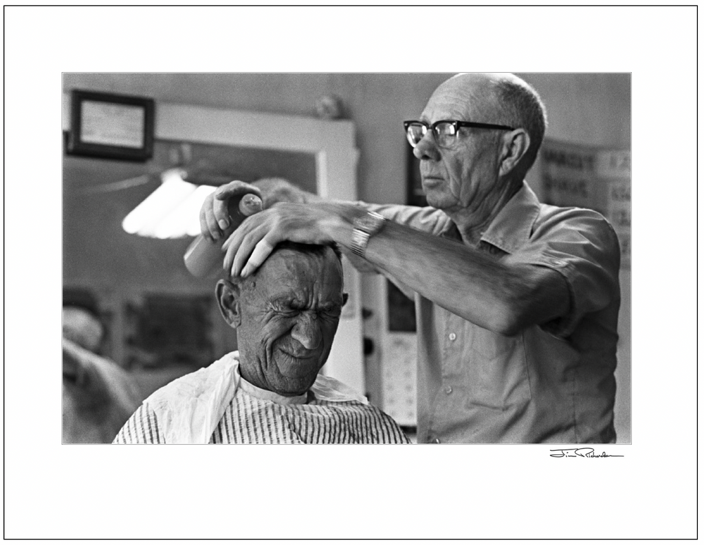 Saturday Haircut, Cuba, Kansas