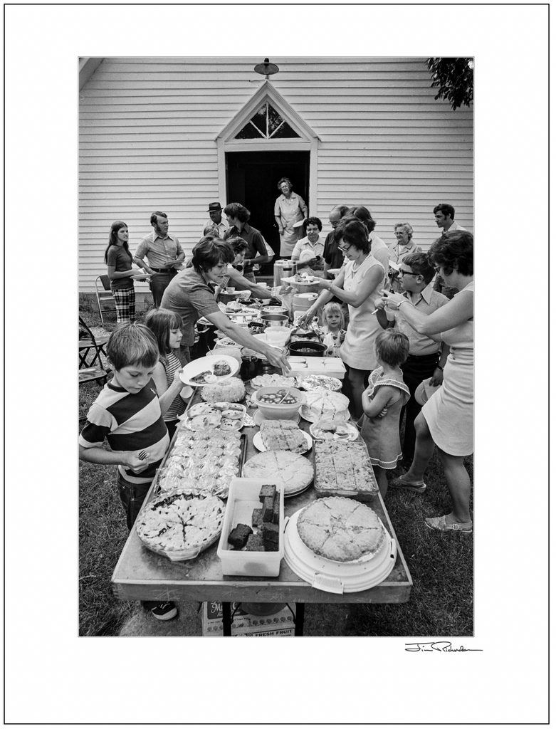 Church Picnic at St. Isadore, Cuba, Kansas