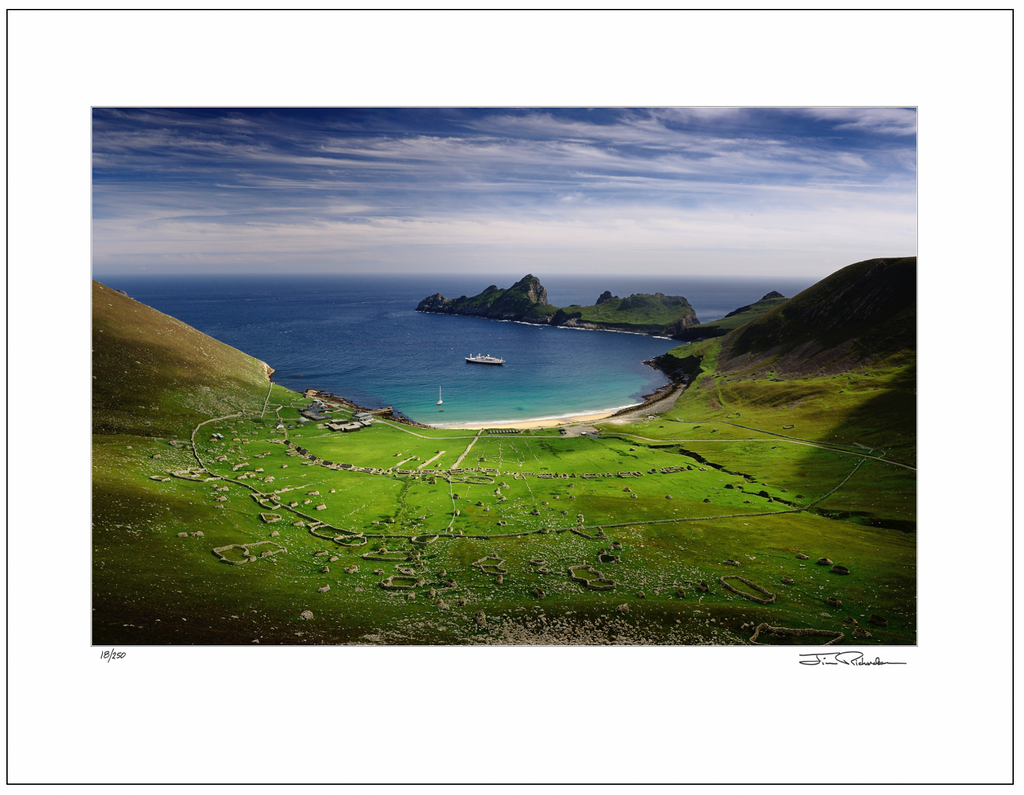 The Village, St. Kilda, Scotland