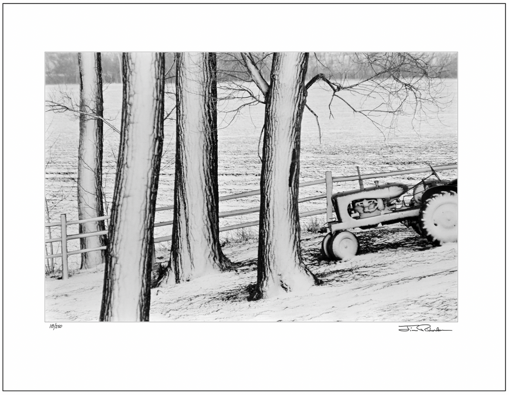 Tractor in a Blizzard