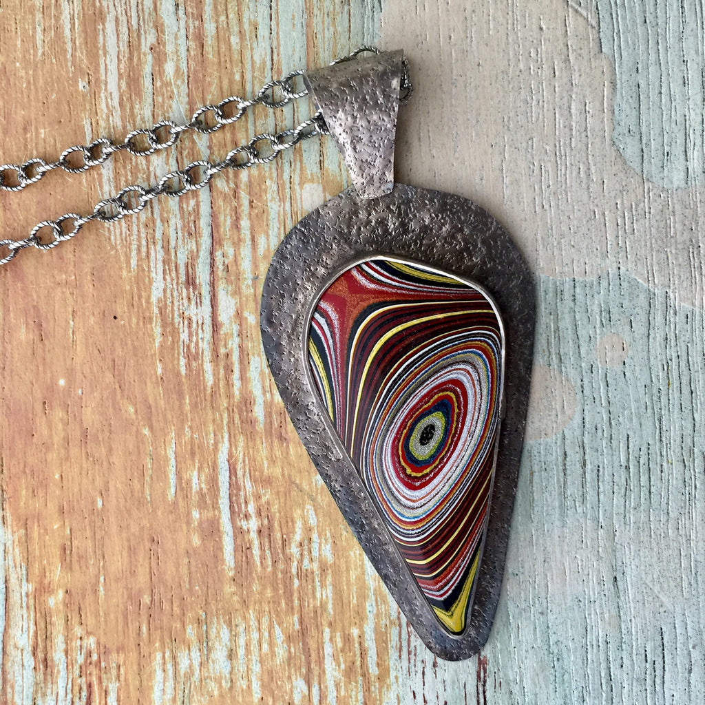 Fordite -Corvette- Necklace